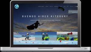 Pagina web Buenos Aire Kitesurf